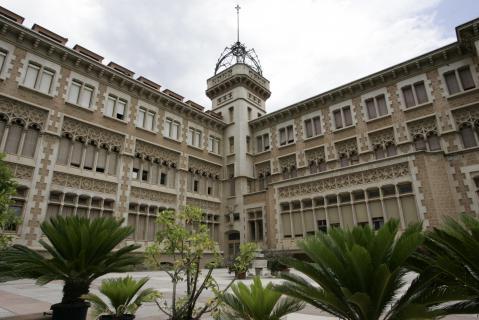 La salle bonanova commemora els seus 125 anys for Piscina la salle bonanova