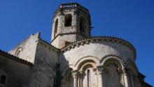 Visita a l'església romànica de Sant Martí Sarroca i al catell gòtic, contigu