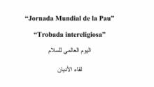 Jornada Mundial de la Pau:Trobada intereligiosa a Mataró
